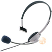 eForCity - HEADSET w/ MIC CONTROLLER Compatible With MICROSOFT XBOX 360/Xbox 360 Slim - White - White