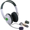 eForCity - Compatible With Microsoft Xbox 360 Slim Game Stereo Headset w/ Mic