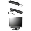 Lenovo - 2.0 2.5 W Home Audio Speaker System - Black - Black