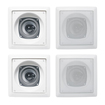 Acoustic Audio - I42S 4-150 Watt 4 2-Way Home Theater In-Wall/Ceiling Speakers