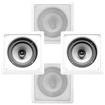"Acoustic Audio - Acoustic Audio CS-I82S In Wall Ceiling 8"" Speakers 2 Pair Pack 1200W CS-I82S-2Pr"