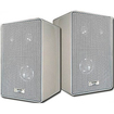 Acoustic Audio - Acoustic Audio 251W Indoor Outdoor 3 Way Speakers 400 Watt White Pair New - Black