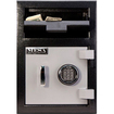 Mesa - Depository Safe - Black, Gray - Black, Gray