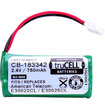 Accessory Genie - truCELL 3-Pack Battery f/ V-Tech,AT&T Cordless Phones to V-Tech BT183342,BT283342,AT&T BT166342