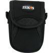 Zeikos Electronics - Ultra Compact Digital Camera Deluxe Carrying Case - Black - Black