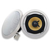 Acoustic Audio - Acoustic Audio HD5 In Ceiling Speaker Pair 2 Way Home 500 Watts New HD5-Pr - White