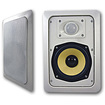Acoustic Audio - Acoustic Audio HD525 In Wall Speaker Pair 2 Way Home 500 Watts New HD525-Pr - White