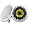 Acoustic Audio - HD-6 600 Watt Pair 6.5 2-Way In-Wall/Ceiling Speakers - White