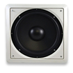 """Acoustic Audio - Acoustic Audio IWS10 In-Wall/Ceiling 200 Watt 10"""" Home Theater Passive Subwoofer - White"""