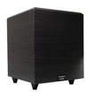 Acoustic Audio - PSW-15 600 Watt 15 Powered Subwoofer Home Theater Sub - Black Ash