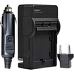 Vivitar - Travel Quick Charger for Canon NB-6L and Samsung SLB-10A SLB-11A Battery