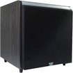Acoustic Audio - HD-SUB10 600W 10 Home Theater Powered Subwoofer - Black Ash