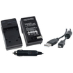 eForCity - NP-45A Charger and Cable Bundle for Fuji FinePix J100 J15fd J150W