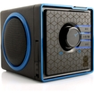 GOgroove - SonaVERSE BX Rechargeable Portable 3.5mm Stereo Speaker for Smartphones & Tablets! - Black