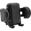 USA Gear - Universal Car Air Vent Mount Holder w/360 Rotating Neck - Will hold Apple iPhone 5S , 5C , 5 , 4 - Black - Black