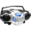 Technical Pro - Portable Rechargeable Speaker with USB / SD/ TF Inputs - Black, Silver - Black, Silver