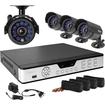 Zmodo - 4CH CCTV Security DVR Day Night Weatherproof Camera System - Multi