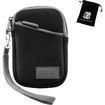 USA Gear - Compact Digital Camera Carrying Case for Nikon, Canon, Samsung, Sony & More Compact Digital Cameras