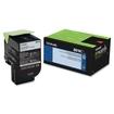 Lexmark - 80C10K0 801K Black Return Program Toner - Black