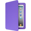 Aluratek - Folio Case with Bluetooth Keyboard for iPad® , The New iPad® , iPad® 2 - Grape Jelly