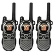 Motorola - MT352R Triple Pack 2-Way Radio with High Capacity Battery - Silver