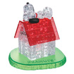 Bepuzzled - 3D Crystal Puzzle - Snoopy House: 50 Pcs