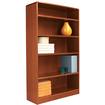Alera - Radius Corner Bookcase - Medium Cherry