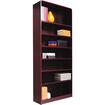 Alera - Radius Corner Bookcase - Mahogany