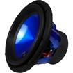 Audiopipe - NEW TXXAPA12BL 12 1600W METAL CONE SUBWOOFER SUB 1600 WATT - Blue