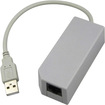 eForCity - USB 10/100Mbps Ethernet Network Adapter Compatible With Nintendo Wii U - Multi