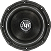 Audiopipe - NEW TXXBD315 15 2400W TRIPLE STACK CAR AUDIO SUBWOOFER SUB 2400 WATT - Black