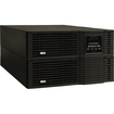 Tripp Lite - SmartOnline 6kVA On-Line Double-Conversion UPS, 6U Rack/Tower, 200-240V Hardwire Output