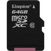 Kingston - 64GB microSDXC Class 10 Flash Card - Multi