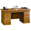 Sauder - Orchard Hills Computer Desk - Rectangle Table Top, 5 Drawers