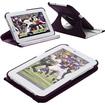 Fosmon - 360 Revolving Leather Case for Samsung Galaxy Tab 2 7.0 - Dark Purple