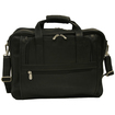 Piel Leather - Ultra Compact Computer Bag - Black