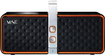 Hercules - Bluetooth Speaker for Most MP3 Players and Audio Devices - Black/Orange