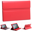 GreatShield - High Quality Leather Folio Case with Keyboard Cover for Microsoft Surface Windows RT - Red