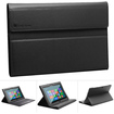 GreatShield - High Quality Leather Folio Case with Keyboard Cover for Microsoft Surface Windows RT - Black