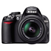 Nikon - Refurbished - Digital SLR Camera + 18-55mm G VR DX AF-S Zoom Lens - Black