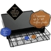 Lipper - #8662 Wire Coffee Maker Shelf W/ Storage Drawer