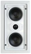 "SpeakerCraft - AIM LCR 1 Dual 5-1/4"" 2-Way In-Wall LCR Speaker (Each) - White"