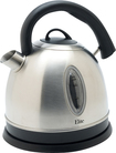 Maxi-Matic - 1.7L Cordless Electric Kettle - Black/Silver