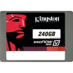 Kingston - SSDNow V300 240GB Internal Serial ATA III Solid State Drive - Black