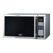 Oster - Steel Microwave 900W 0.9Cf One Touch Presets - Silver