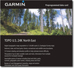 Garmin - TOPO U.S 24K - Northeast Digital Map - Multi