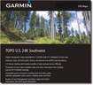 Garmin - TOPO U.S. 24K Southwest Digital Map