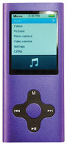 Eclipse - 4GB* Video MP3 Player - Purple