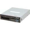 "Rosewill - 74-in-1 USB3.0 3.5"" Internal Card Reader w/USB Port"