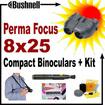 Bushnell - Bundle 8x25 Perma-Focus Compact Binoculars - 170825